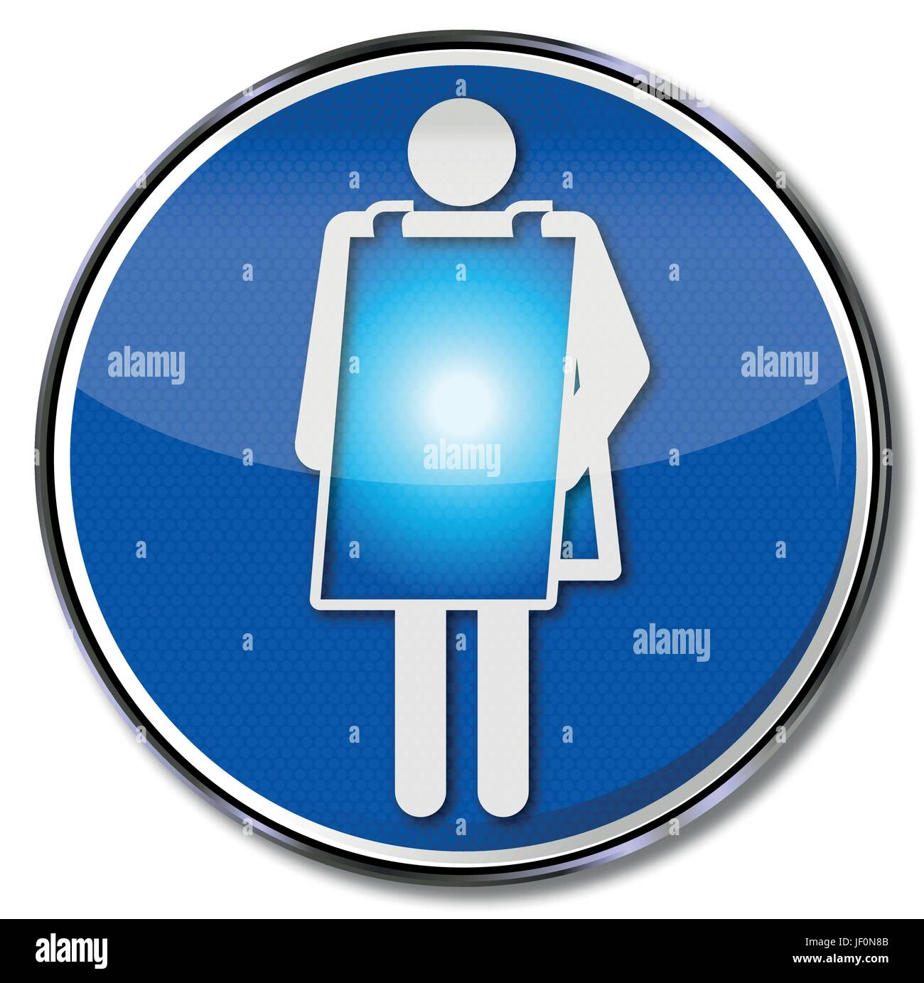 woman, poster, radioscopy, demonstration, assistance, help, support, aid, - Stock Vector