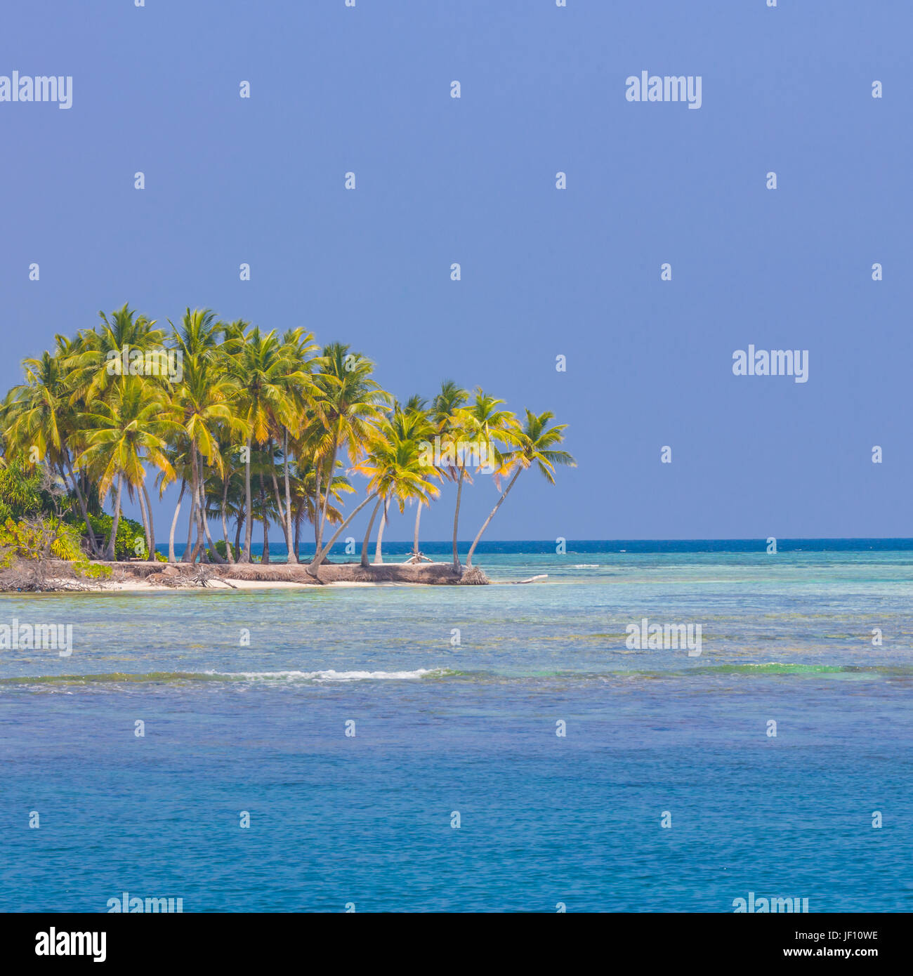 Luxury summer vacation and holiday concept background. Summer beach nature and tropical island banner Stock Photo