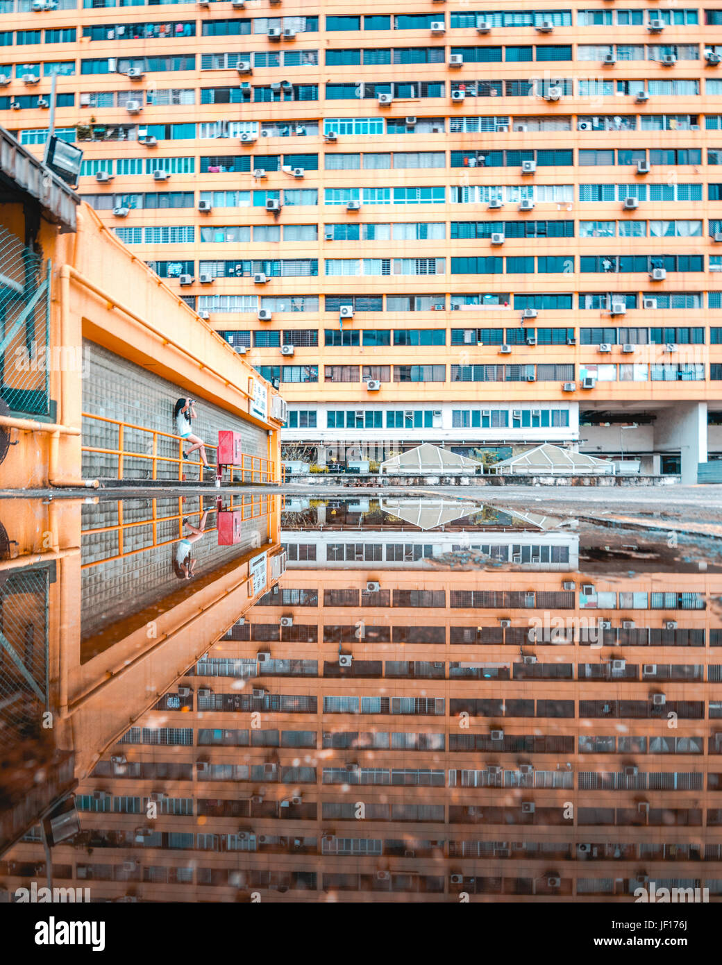 SINGAPORE: People's Park Complex.  MIND-BLOWING images show what looks like a science fiction megacity is in - Stock Image
