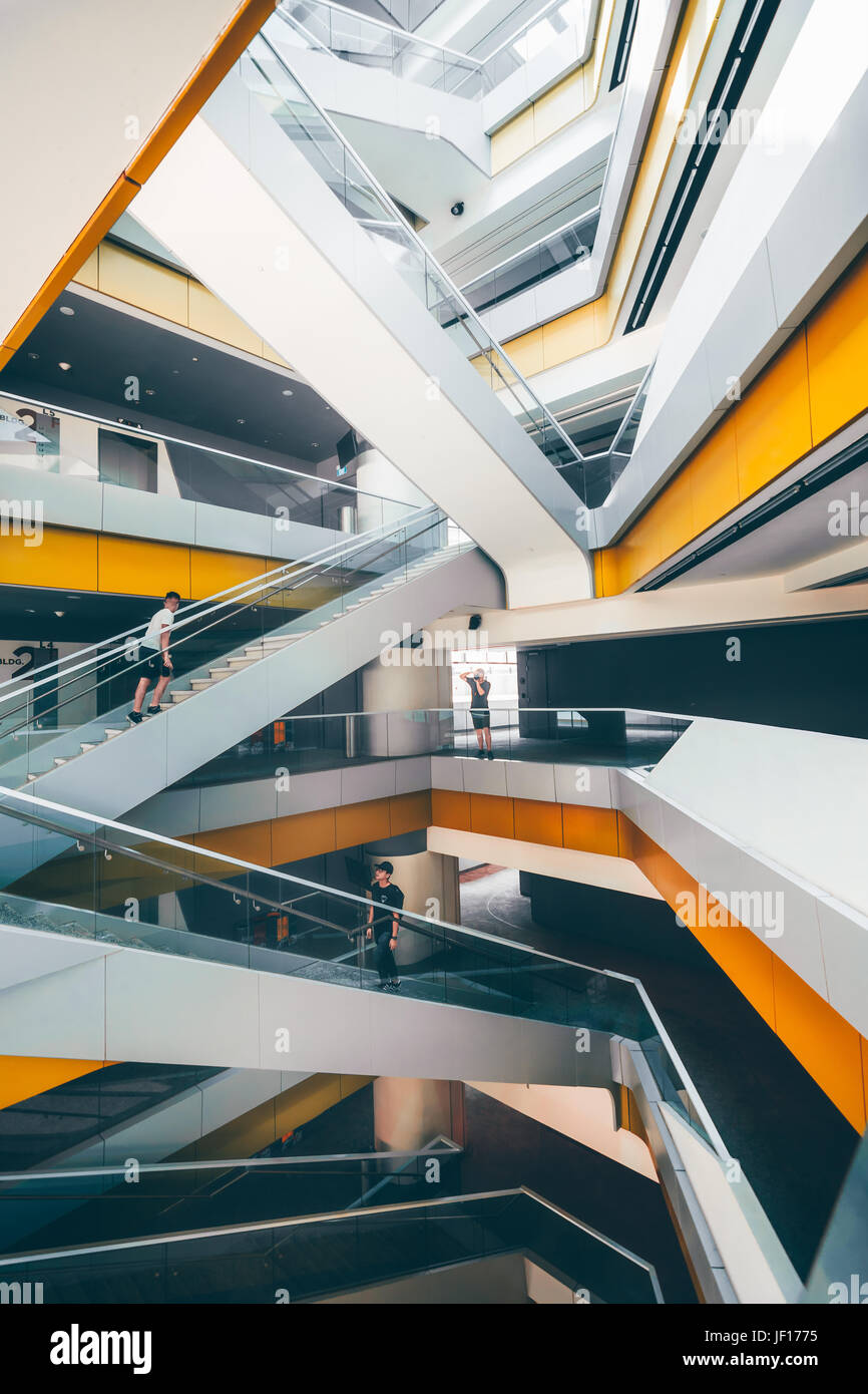 SINGAPORE: Singapore University of Technology and Design. MIND-BLOWING images show what looks like a science fiction - Stock Image