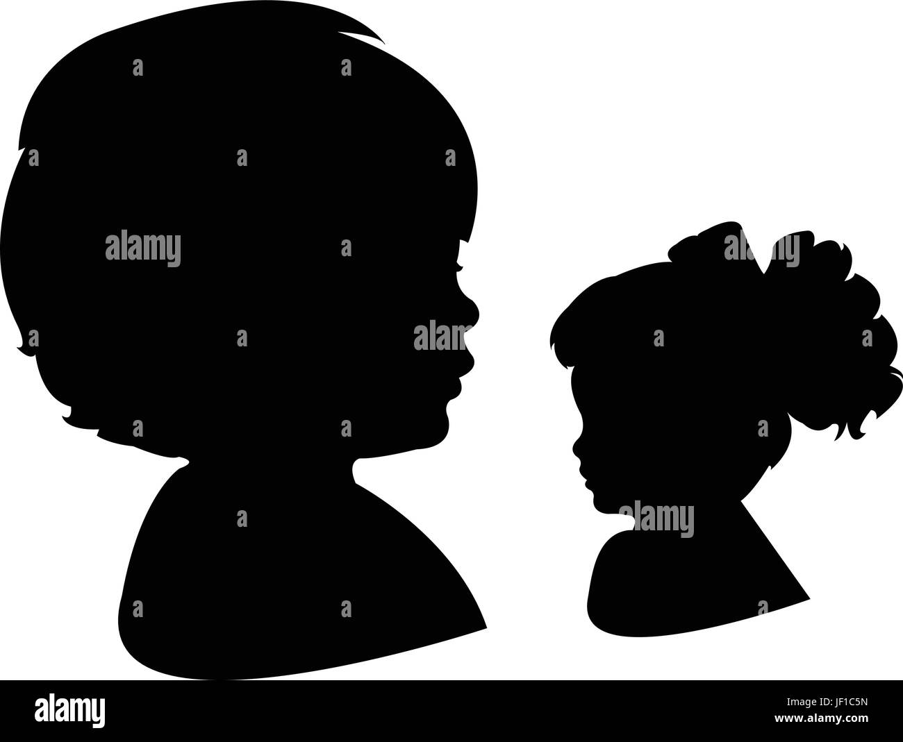 profile, humans, human beings, people, folk, persons, human, human being, Stock Vector