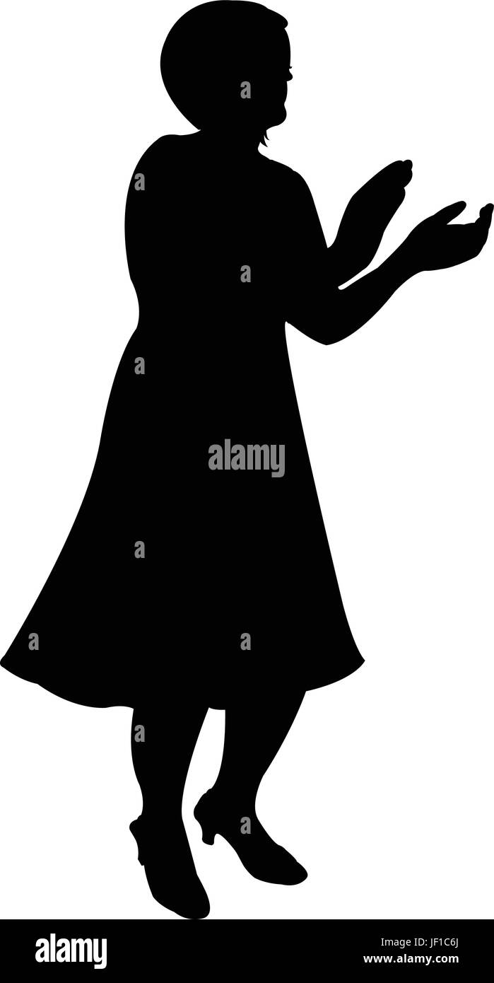 woman, humans, human beings, people, folk, persons, human, human being, hand, Stock Vector