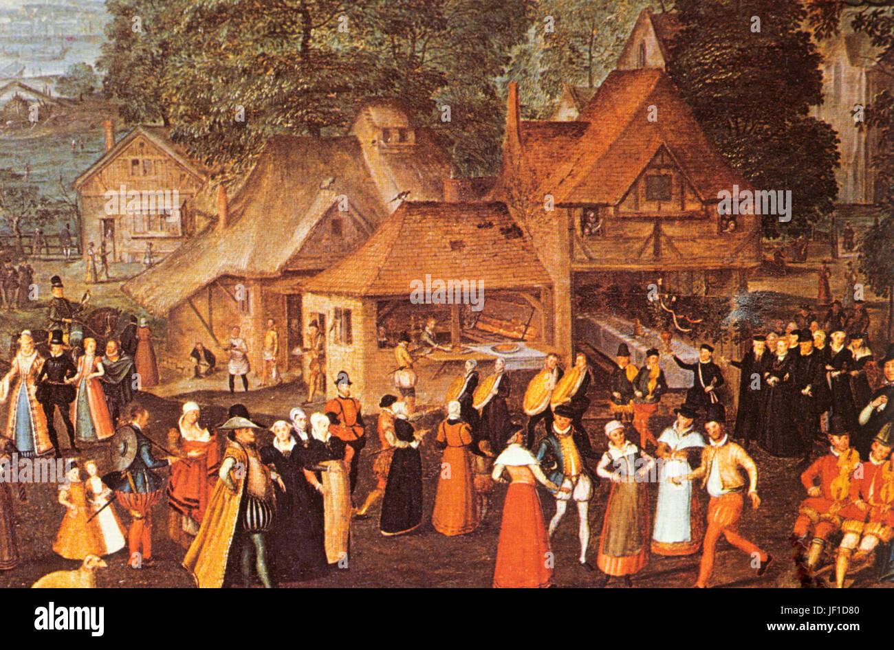 festival at bermondsey, marcus gheeraerts the elder, 1569