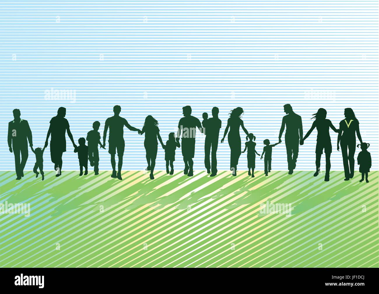 woman, humans, human beings, people, folk, persons, human, human being, game, - Stock Vector
