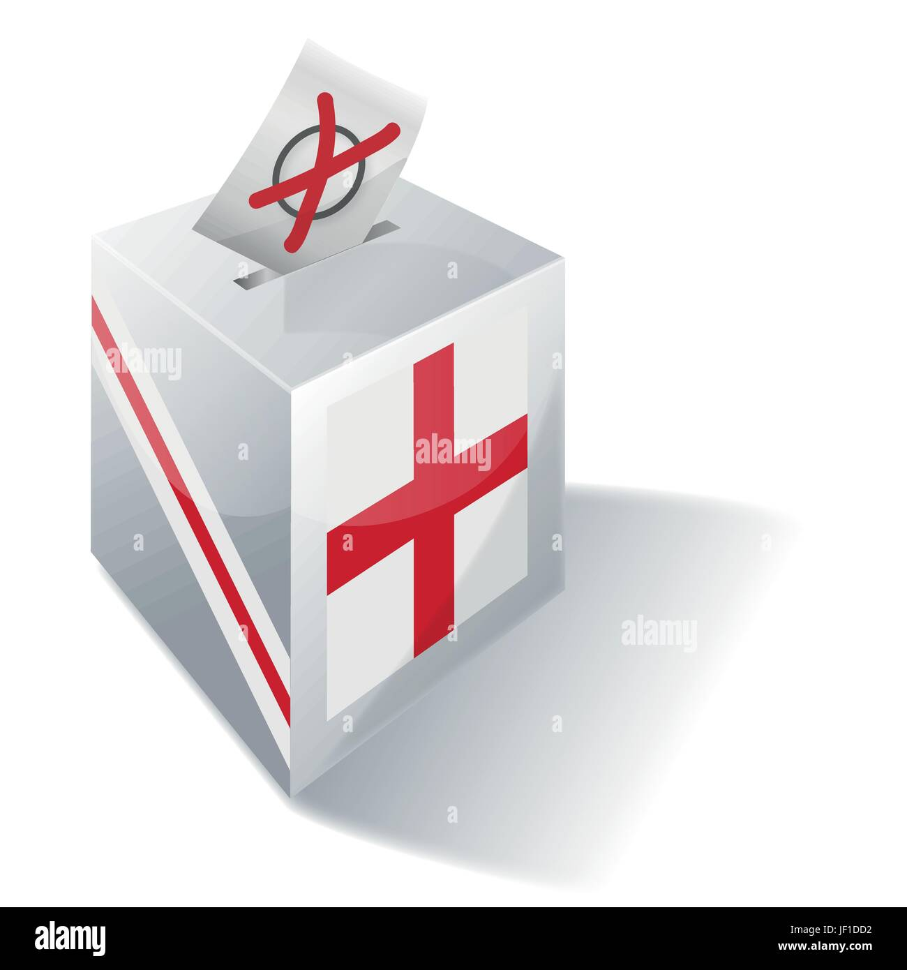 cross, england, knight, kingdom, unites, english, britain, social, cross, urns, - Stock Image