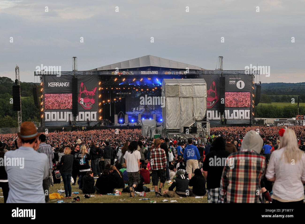 Download Festival - crowds and atmosphere in front of the