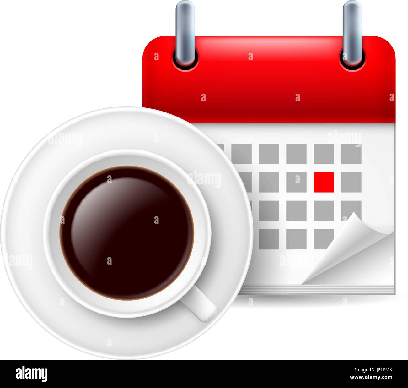 cafe, wait, waiting, glass, chalice, tumbler, cup, note, memo, application, - Stock Vector