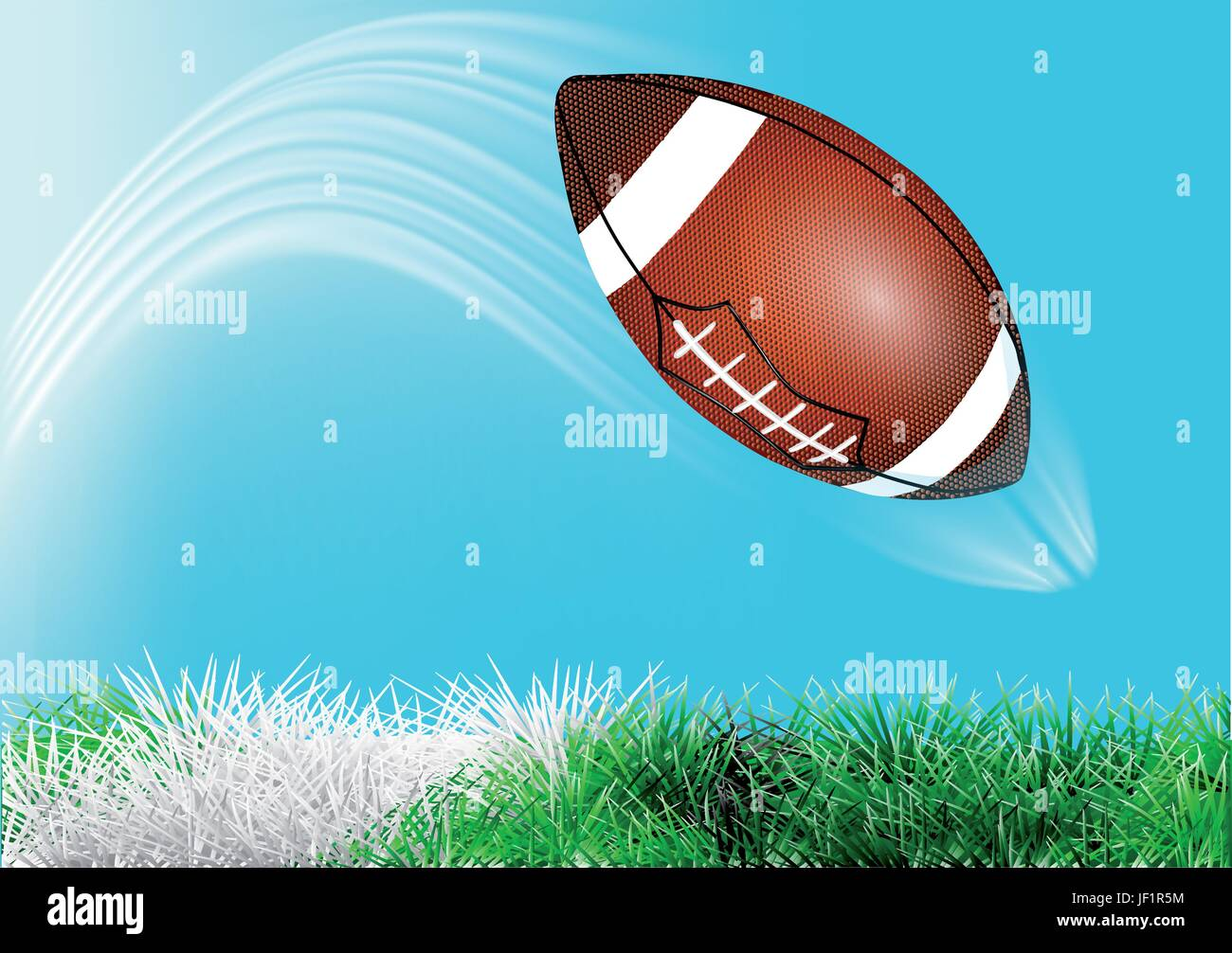 sport, sports, ball, summer, summerly, foreground, meadow, soccer, football, - Stock Vector