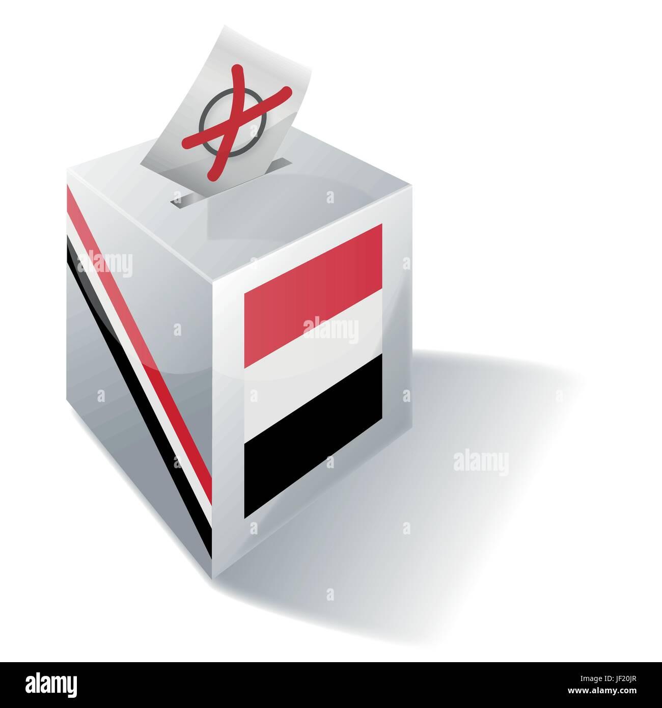 selection box yemen - Stock Image