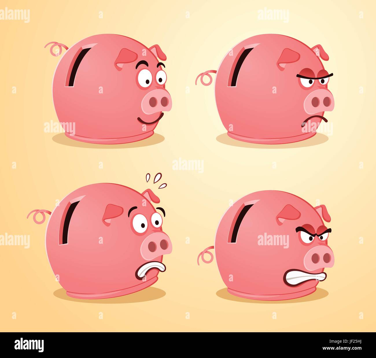 laughs laughing - Stock Vector