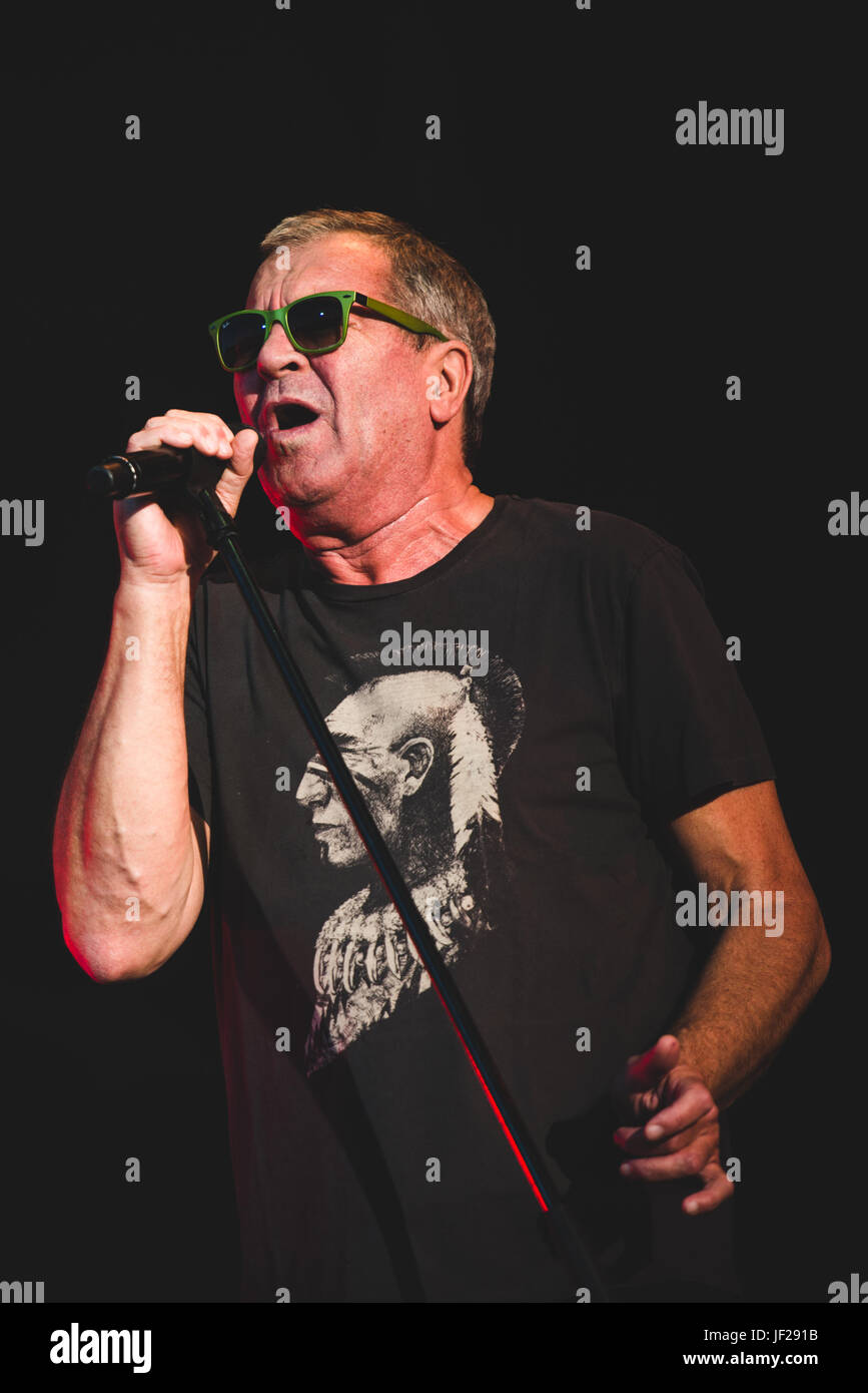June 16, 2017: Deep Purple performing live at the Hellfest Festival 2017 in Clisson, near Nantes Photo: Alessandro Stock Photo