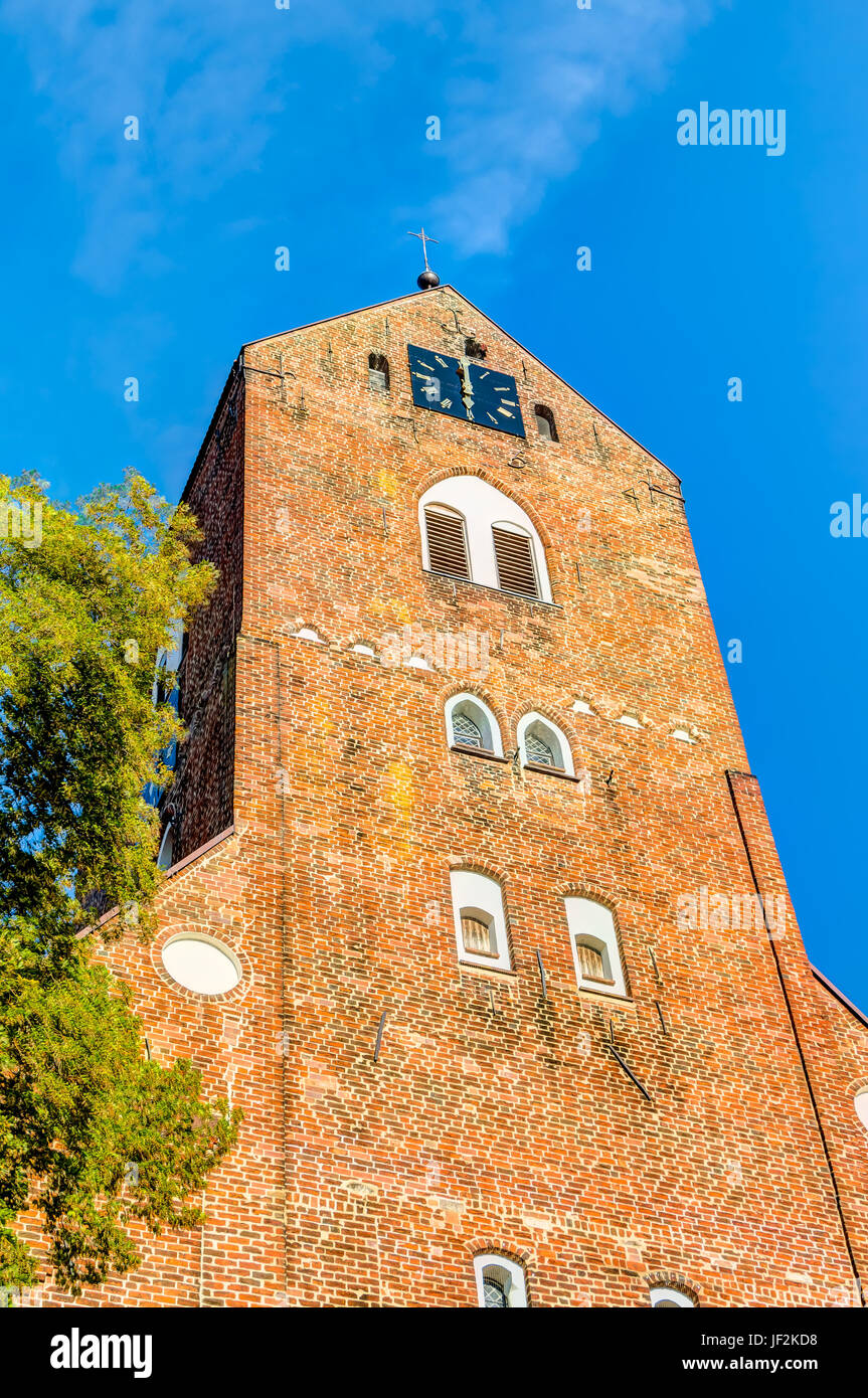 Saint Georges church in Parchim - Stock Image
