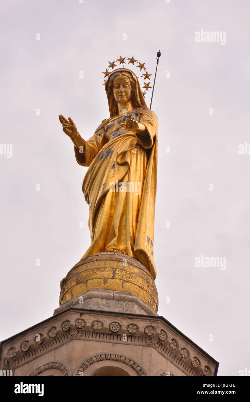 Classic Christian Statue - Stock Image