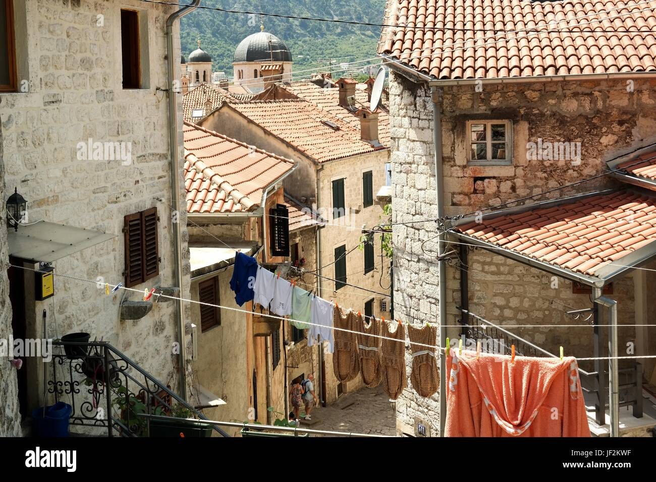 Old Town of Kotor, Montenegro - Stock Image