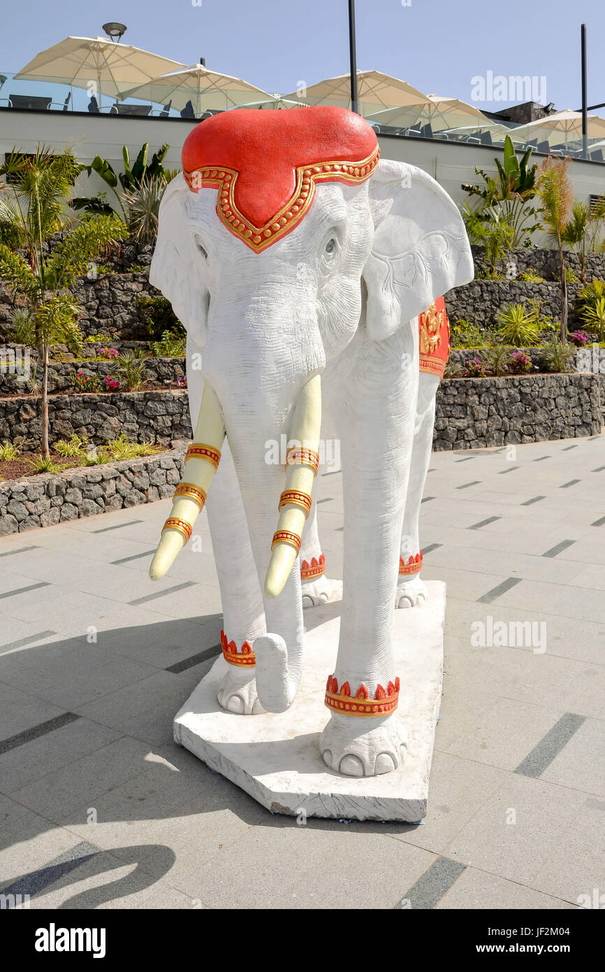 Classic Oriental Statue - Stock Image