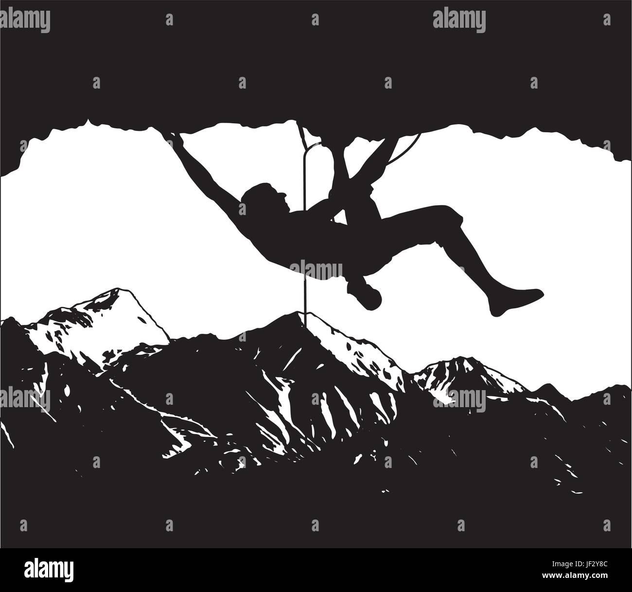 climber - Stock Image
