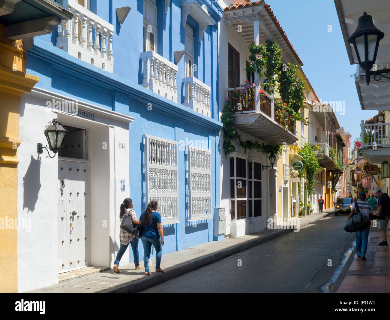 Cartegena, Colombia - Stock Image