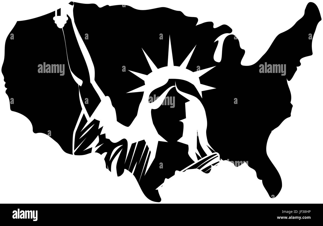 usa country map icon over white background vector illustration Stock ...