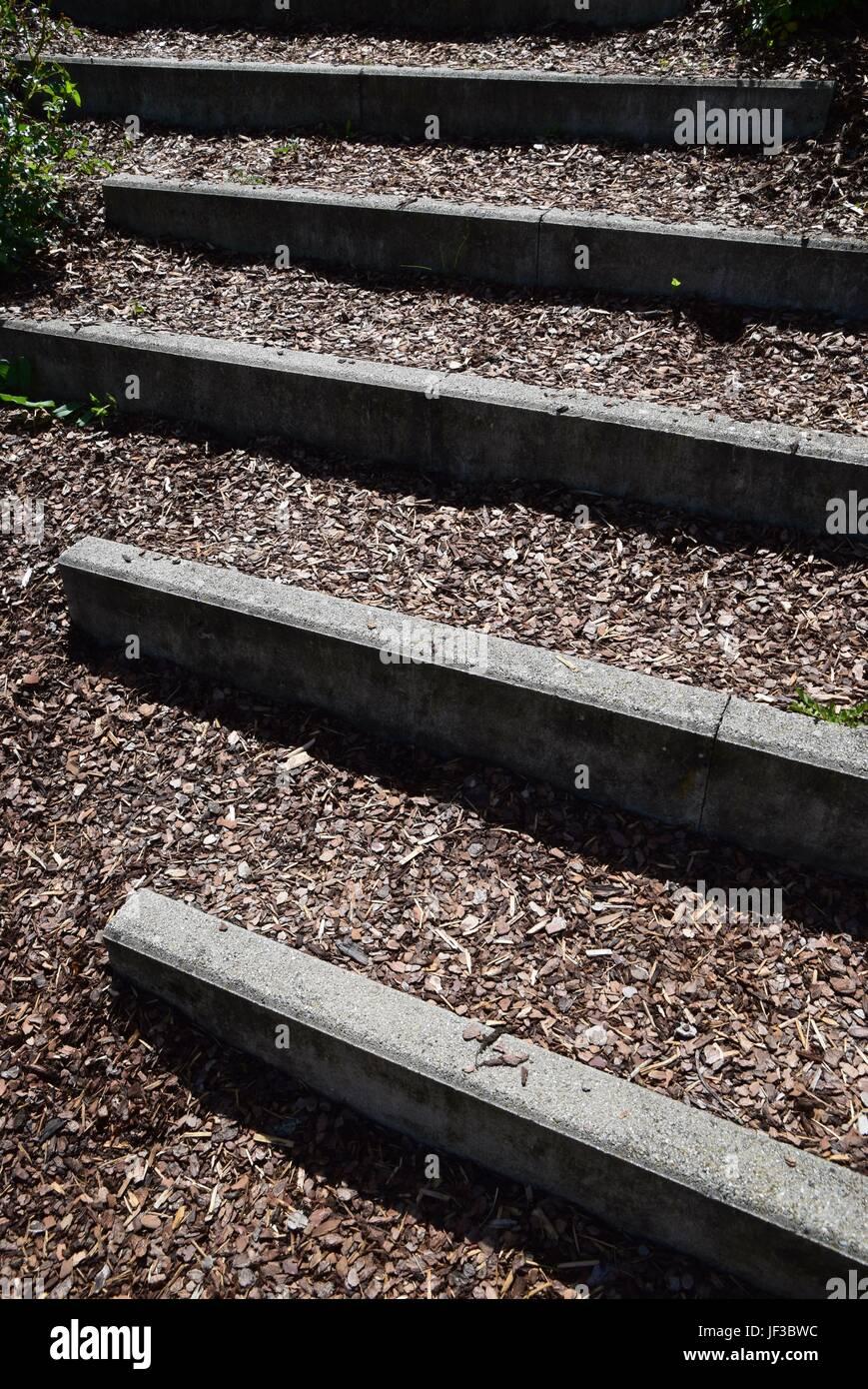 Treppenaufgang - Stock Image