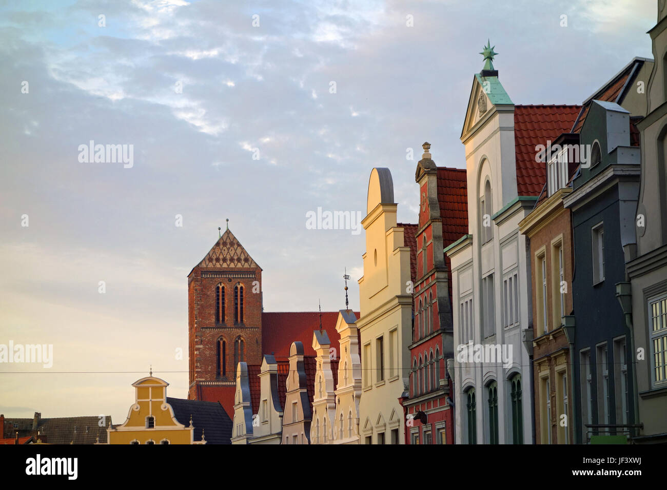wismar, germany Stock Photo