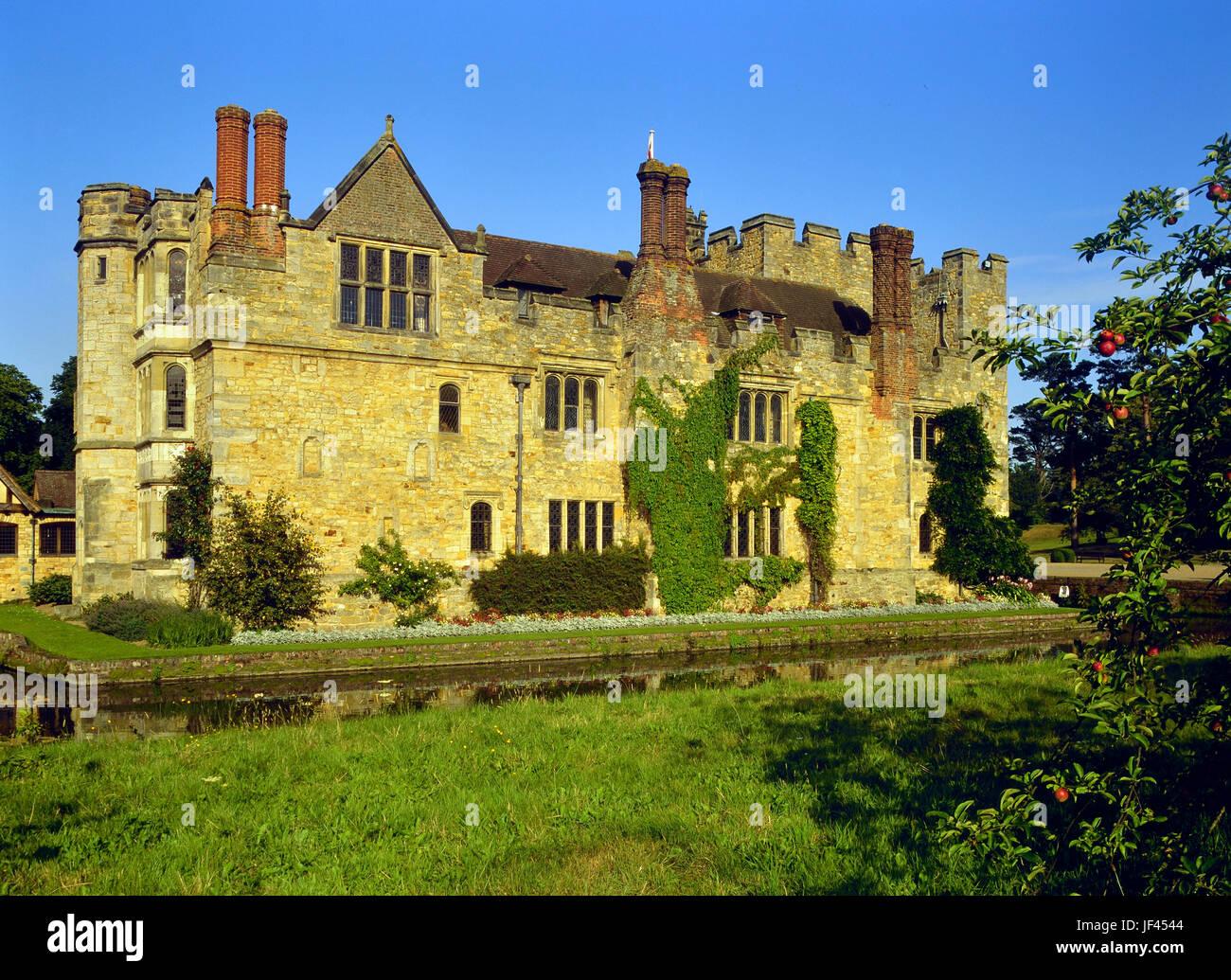Hever Castle. Kent. England. UK - Stock Image