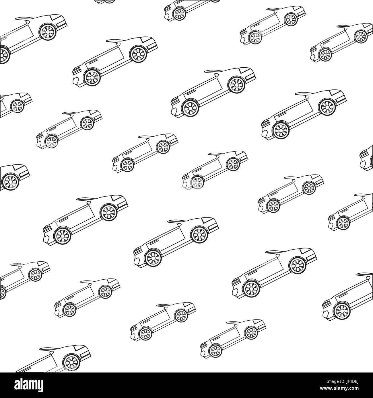 Convertible sport car - Stock Image