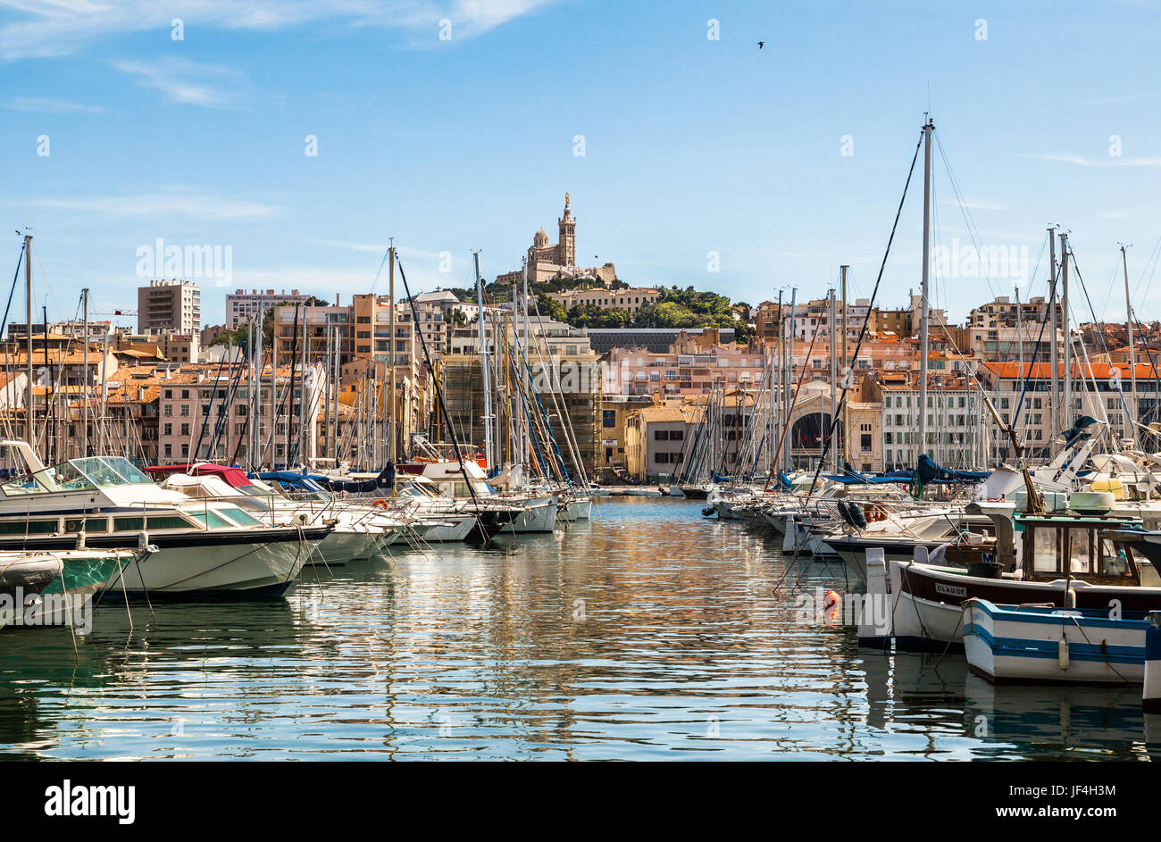 Old Port of Marseille - Stock Image