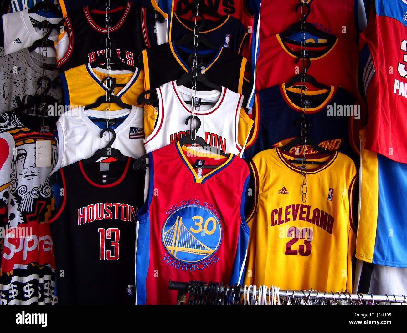 Sports Jerseys High Resolution Stock Photography and Images - Alamy