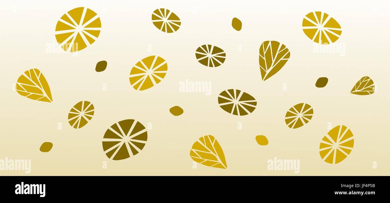retro wallpaper pattern - Stock Image