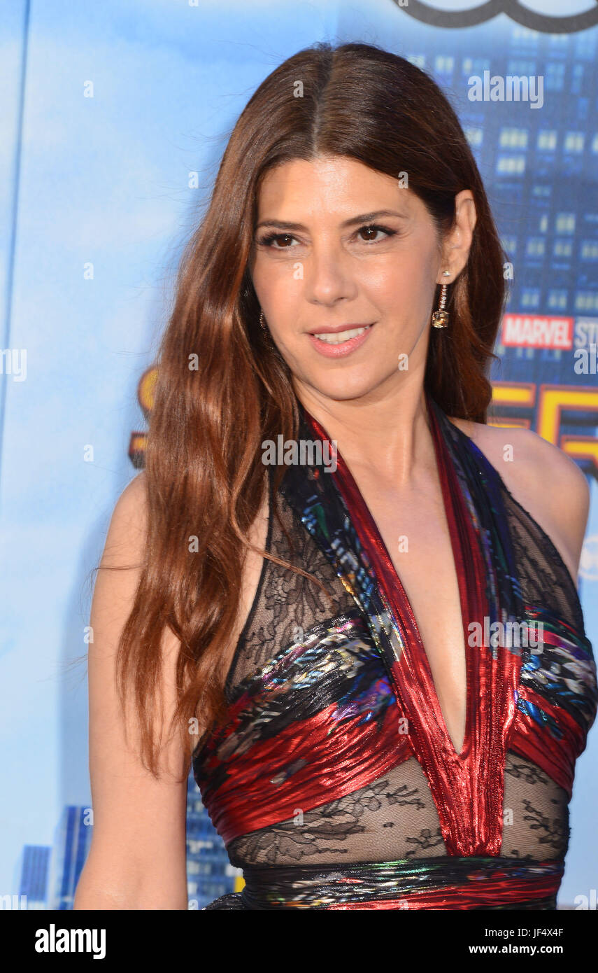 Hollywood, California, USA. 28th June, 2017. a _Marisa Tomei 016 arrives at the Premiere Of Columbia Pictures' - Stock Image