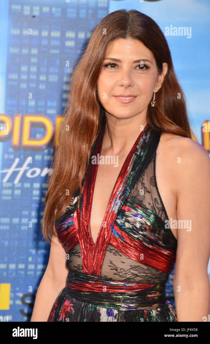 Hollywood, California, USA. 28th June, 2017. a_Marisa Tomei 017 arrives at the Premiere Of Columbia Pictures' - Stock Image