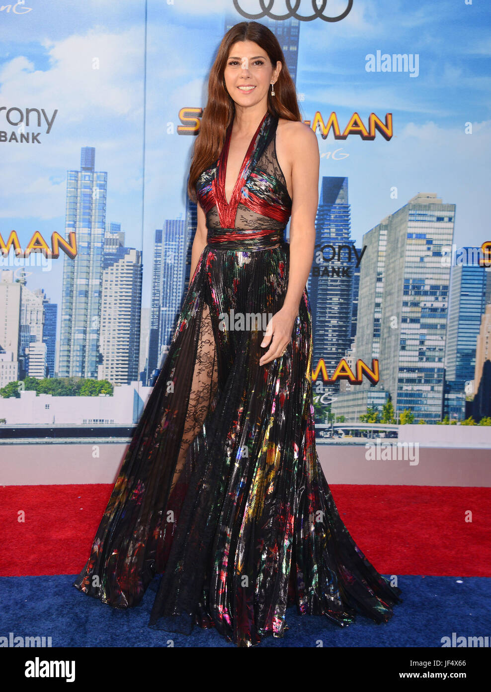 Hollywood, California, USA. 28th June, 2017. Marisa Tomei 019 arrives at the Premiere Of Columbia Pictures' - Stock Image