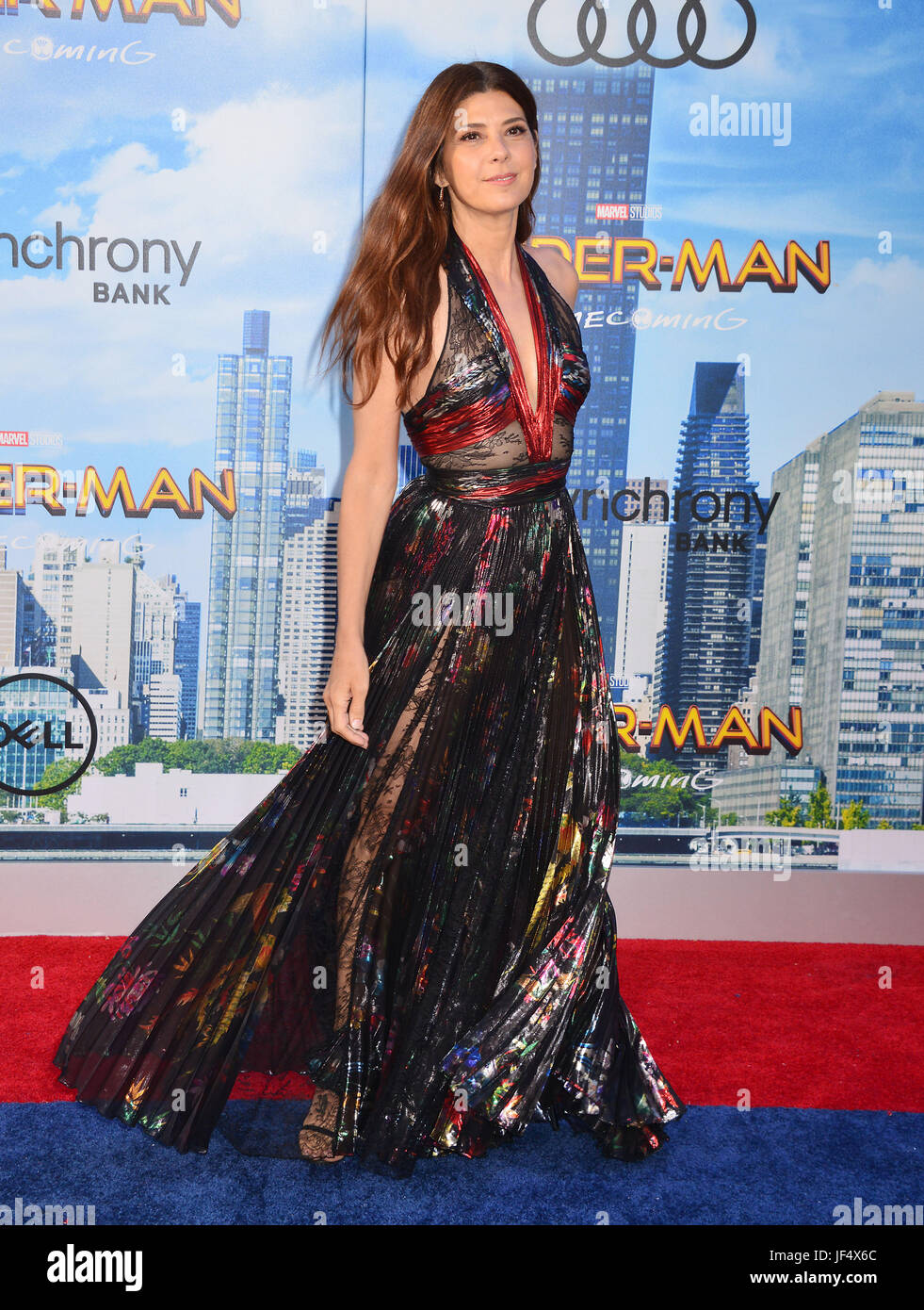 Hollywood, California, USA. 28th June, 2017. Marisa Tomei 024 arrives at the Premiere Of Columbia Pictures' - Stock Image
