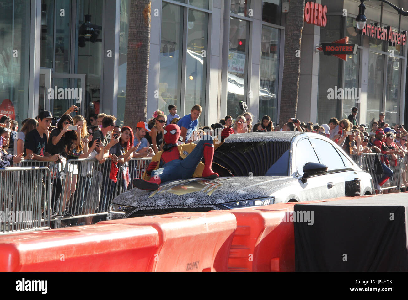 "06/28/2017 The World Premiere of ""Spider-Man: Homecoming"" held at the TCL Chinese Theatre in Los Angeles, CA   Photo: Stock Photo"
