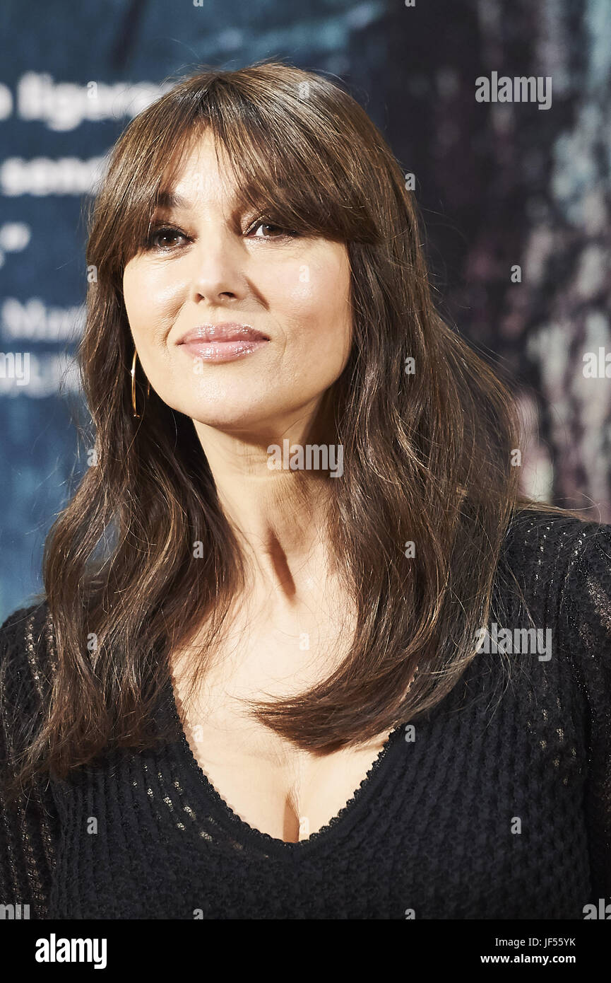 June 29, 2017 - Madrid, Madrid, Spain - MONICA BELLUCCI attends a photocall for 'On The Milky Road' at Urso Hotel Stock Photo