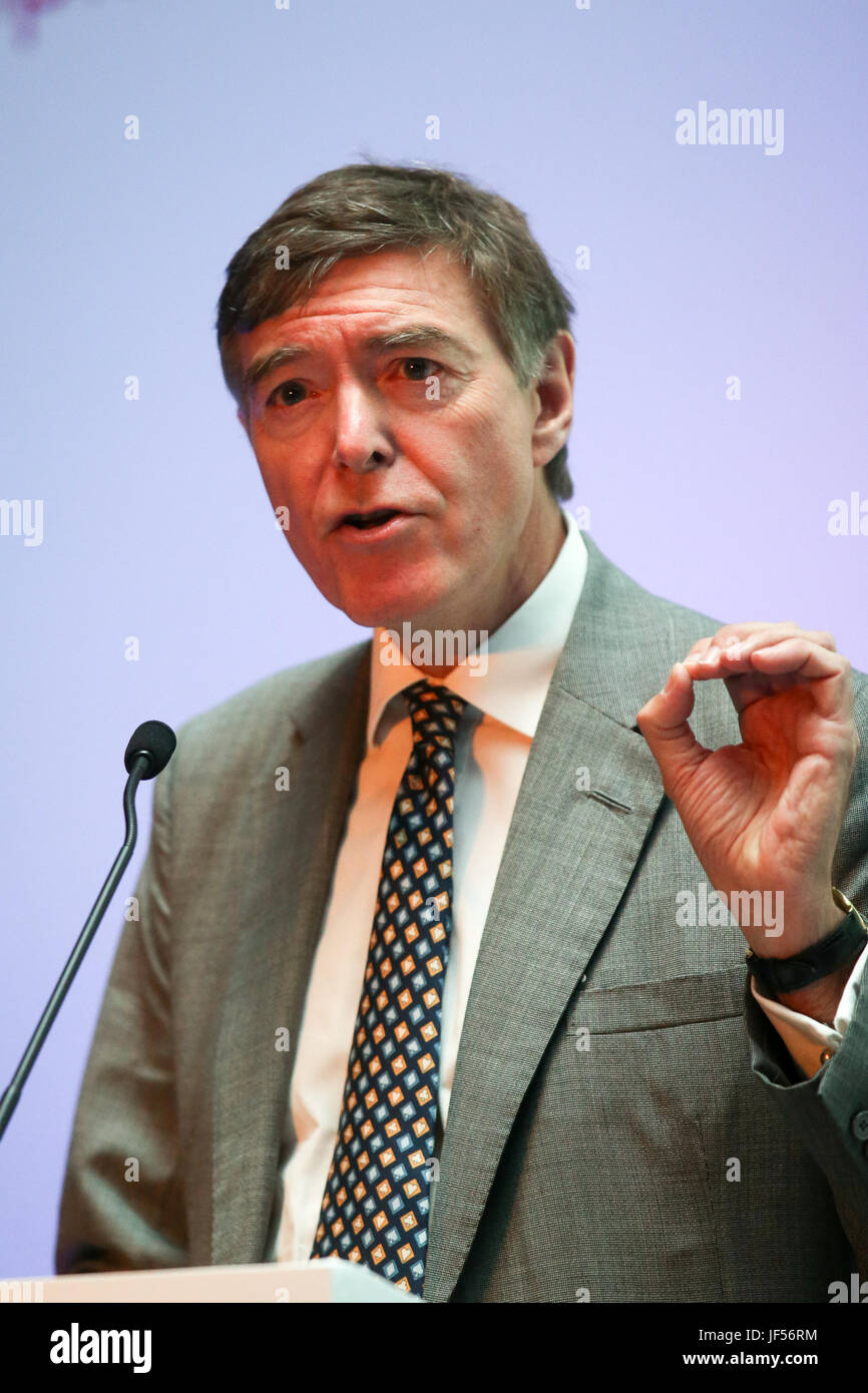 London, 29th June, 2017. Philip Dunne MP, Minister of State for Health addresses health professionals at Health - Stock Image