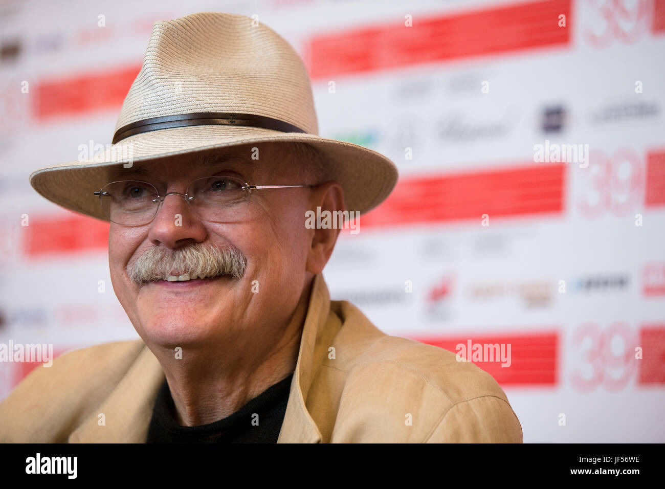 Moscow, Russia. 29th June, 2017. Chairman of the Russian Union of Cinematographers, the president of the Moscow Stock Photo