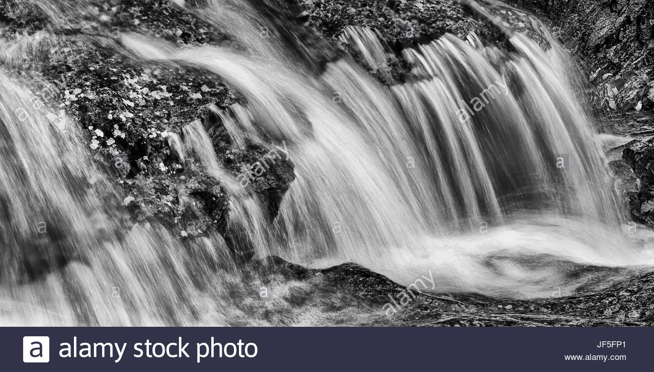 A tributary of the Main Peel River, renowned for its clean water and pristine landscapes. - Stock Image
