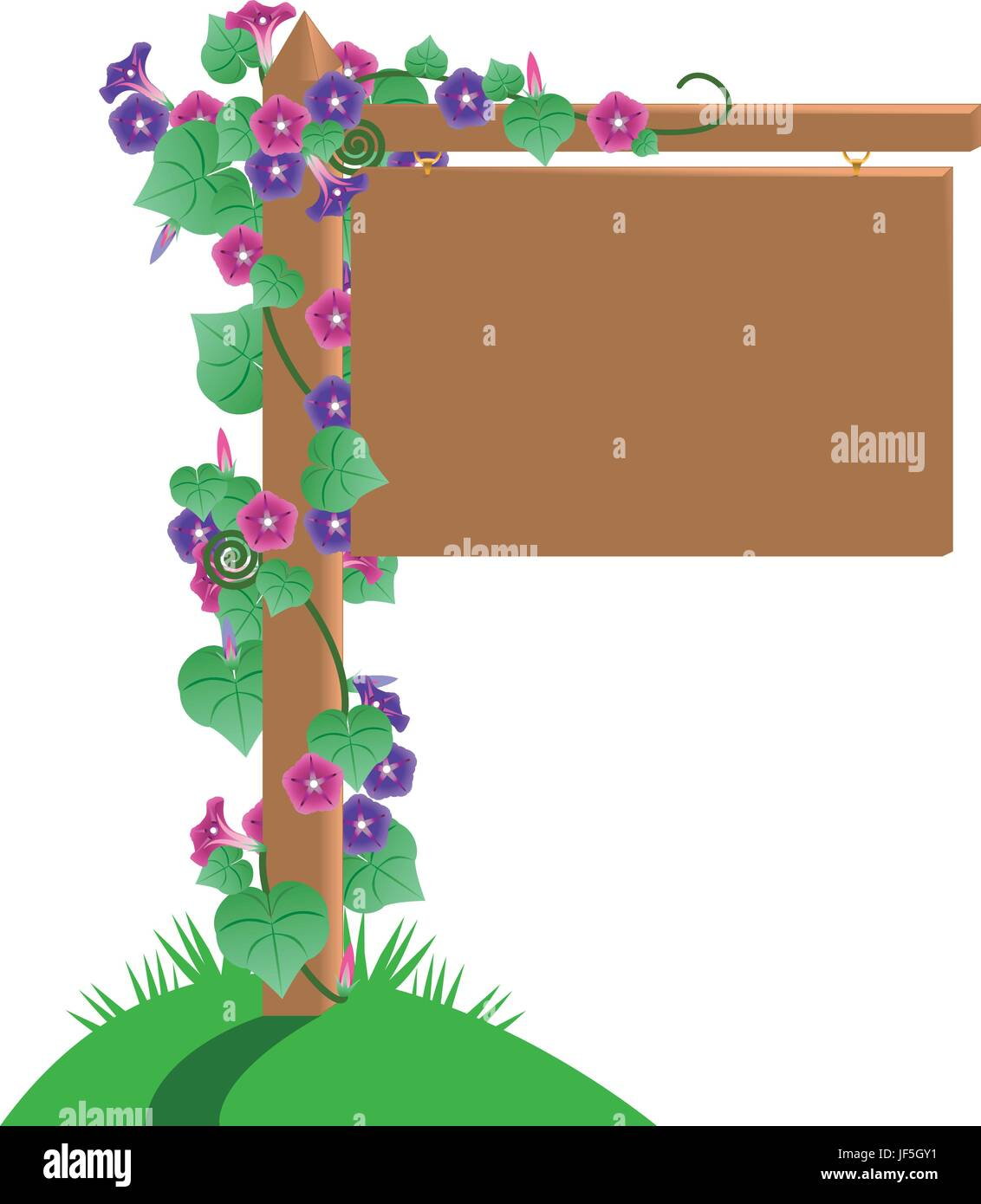 flowers plant - Stock Vector