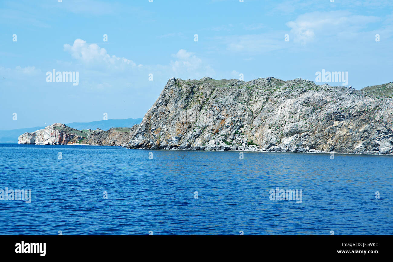 Olkhon island - Stock Image
