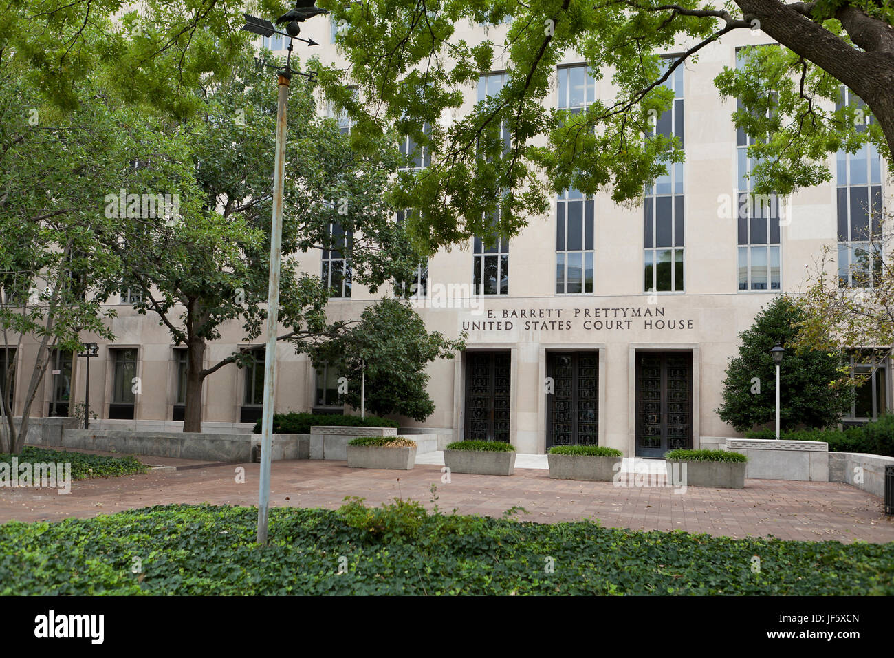 E Barrett Prettyman US Courthouse building (United States Court House, Federal Court, Federal Courthouse, Federal - Stock Image