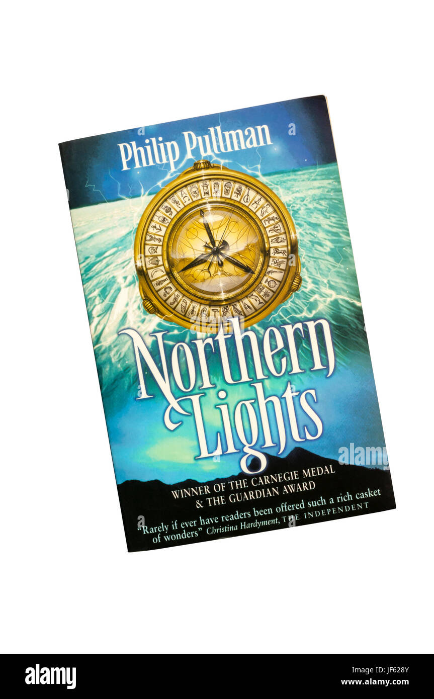 Northern Lights by Philip Pullman is the first in the His Dark Materials trilogy. First published in 1995. - Stock Image