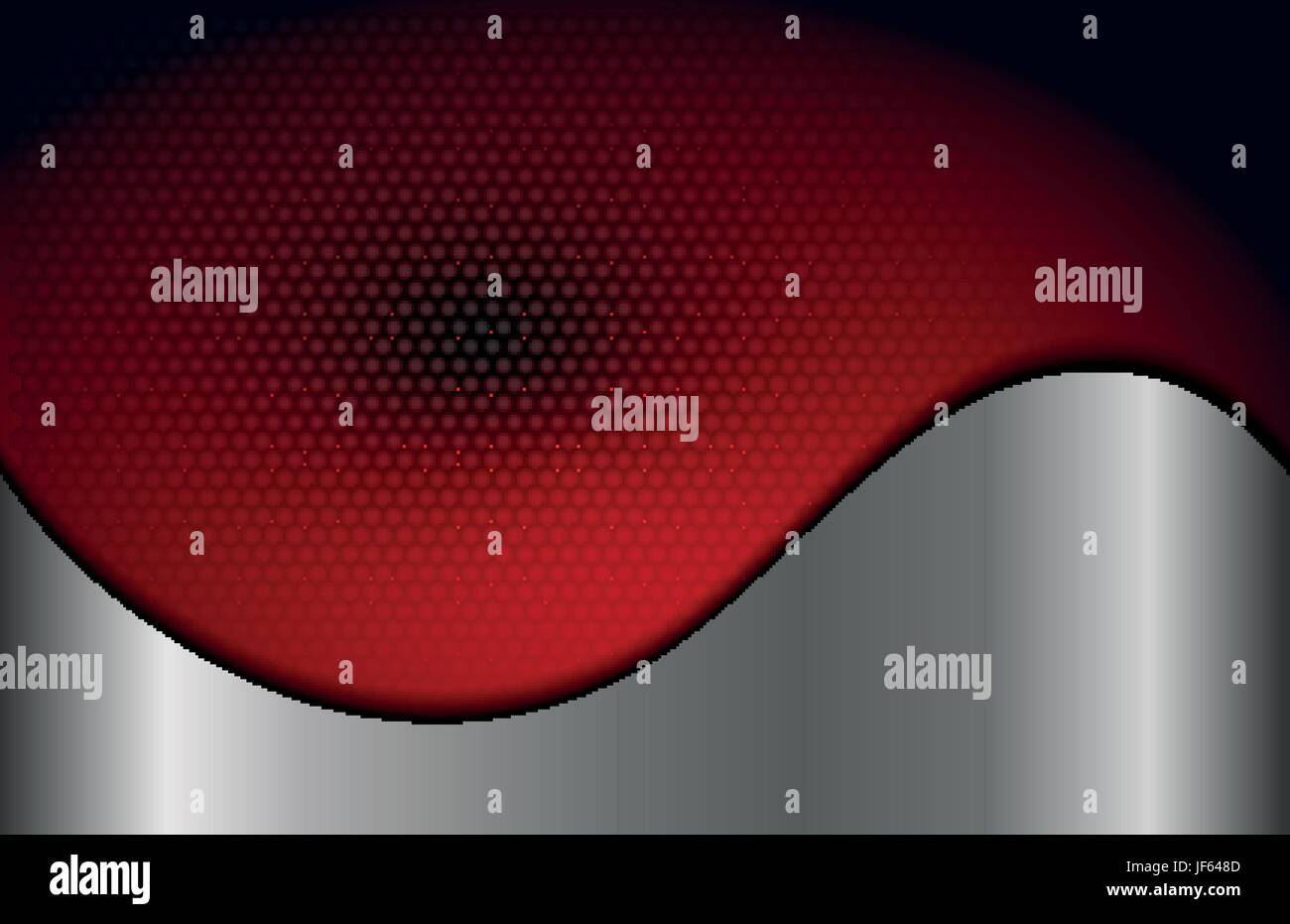 dots, metallic, curve, vignette, shaddow, shadow, red, dots, gradient, - Stock Vector