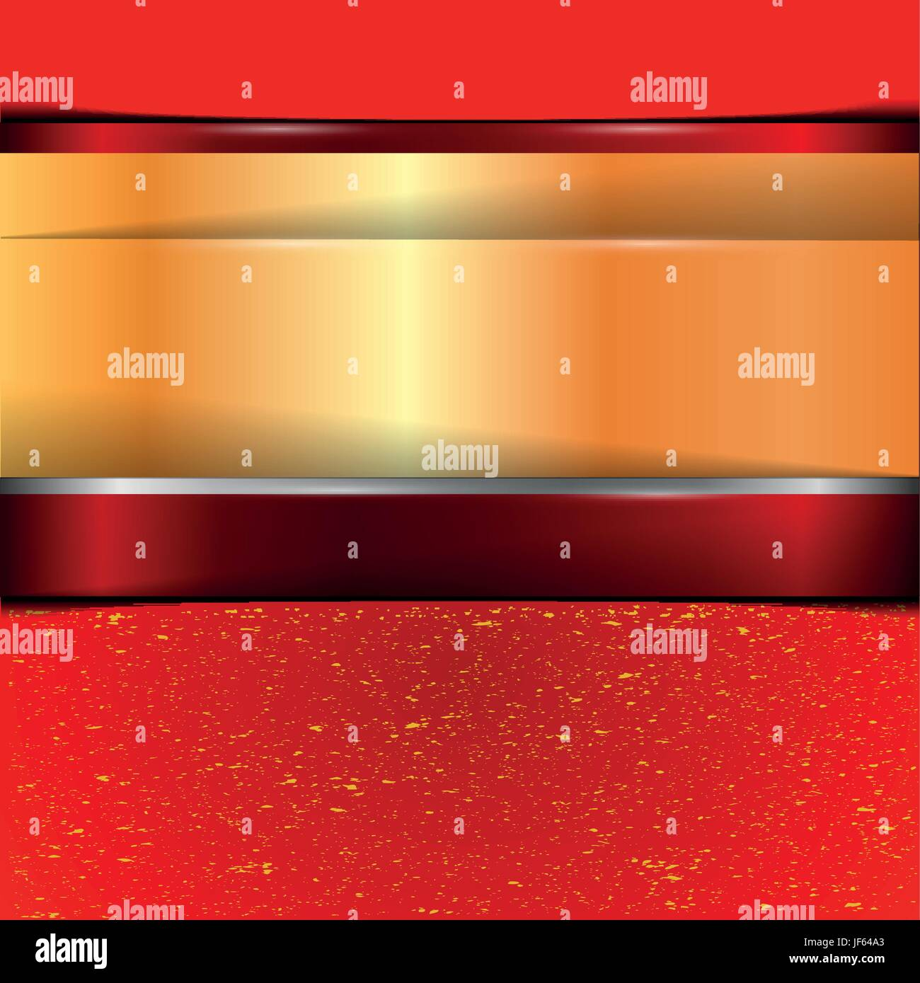 dust, banner, gradient, metallic, shaddow, shadow, gold, red, dust, banner, - Stock Image