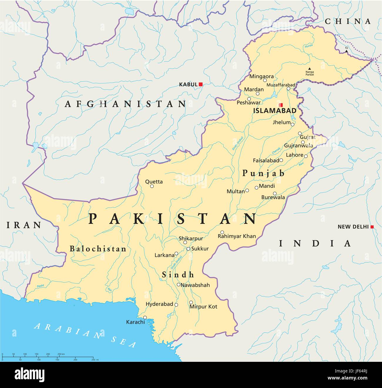 map of pakistan showing deserts Pakistan Map Atlas Map Of The World Travel Desert Wasteland map of pakistan showing deserts