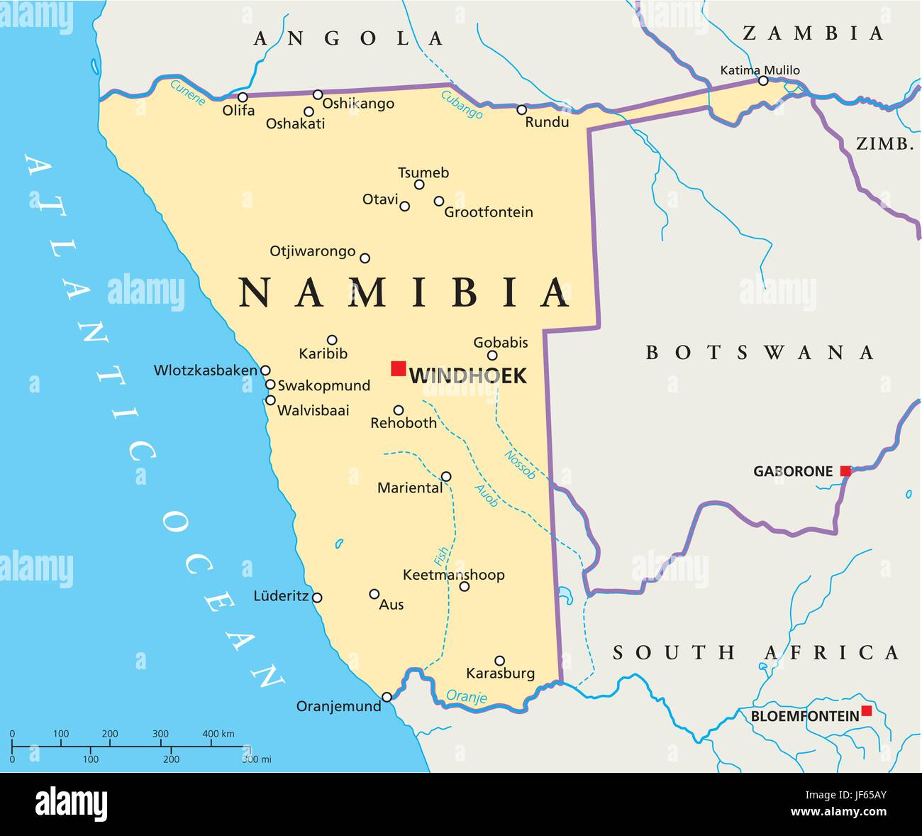 Namibia On Africa Map.Namibia Map Atlas Map Of The World Travel Desert Wasteland
