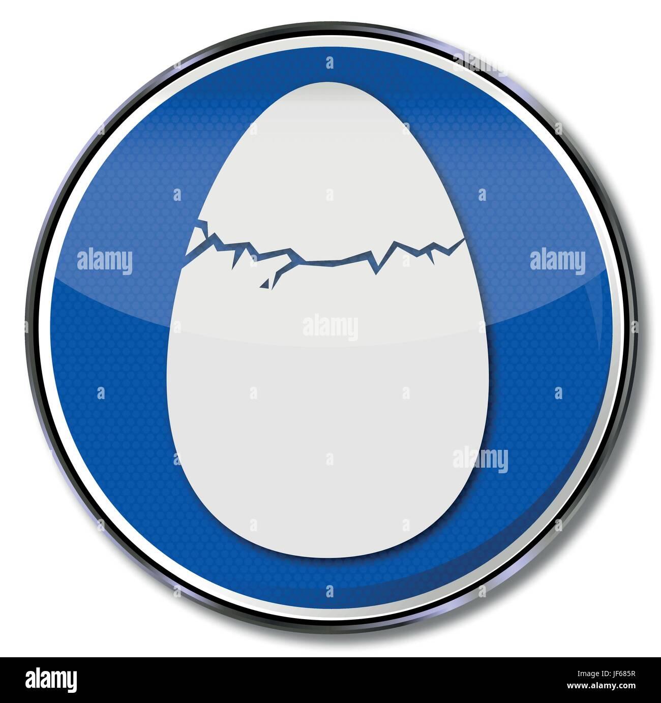 brood, egg, eggshell, eggs, result, hatch, enthusiasm, amusement, enjoyment, Stock Vector