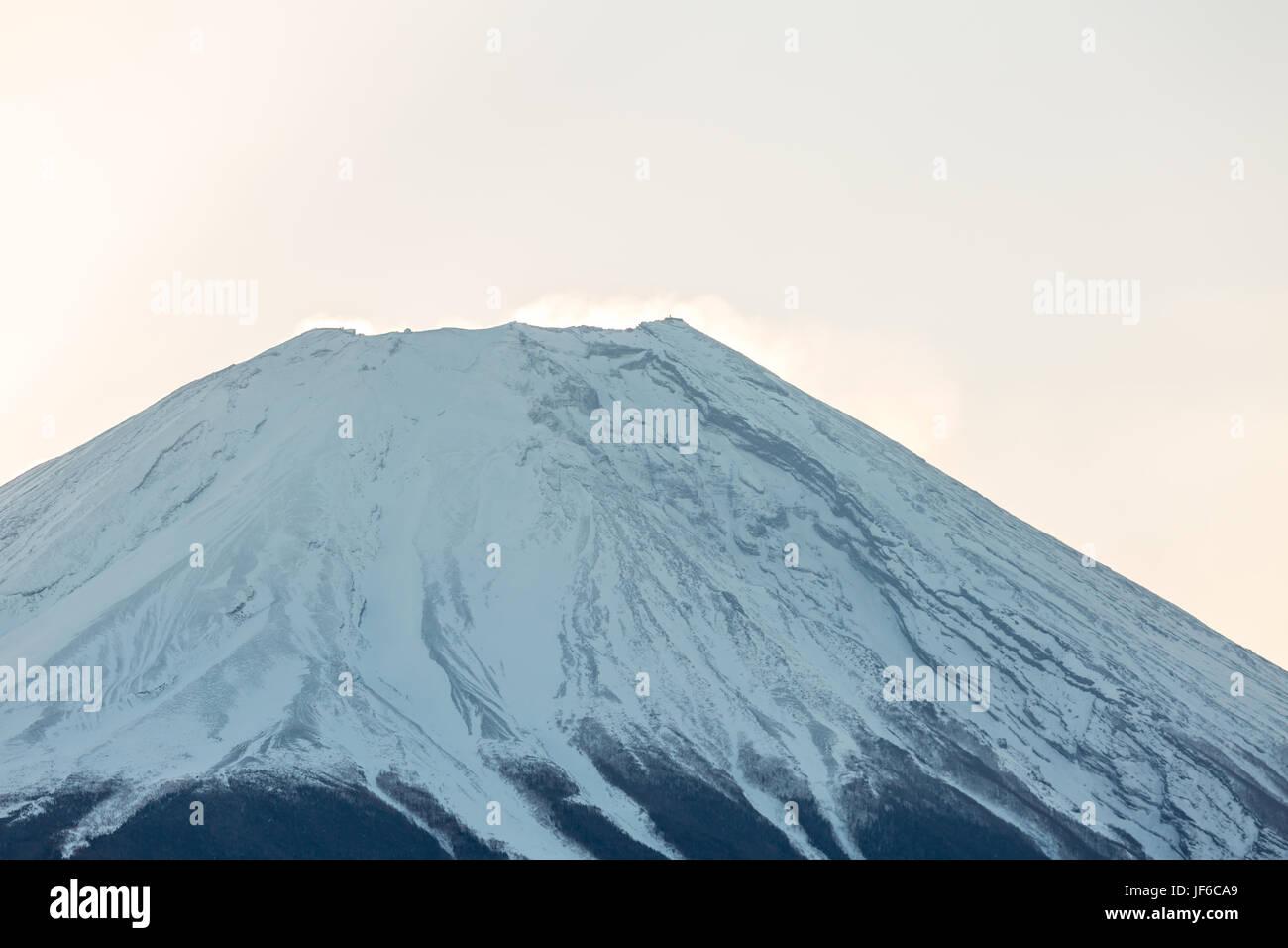 Mountain Fuji Sunrise Stock Photo