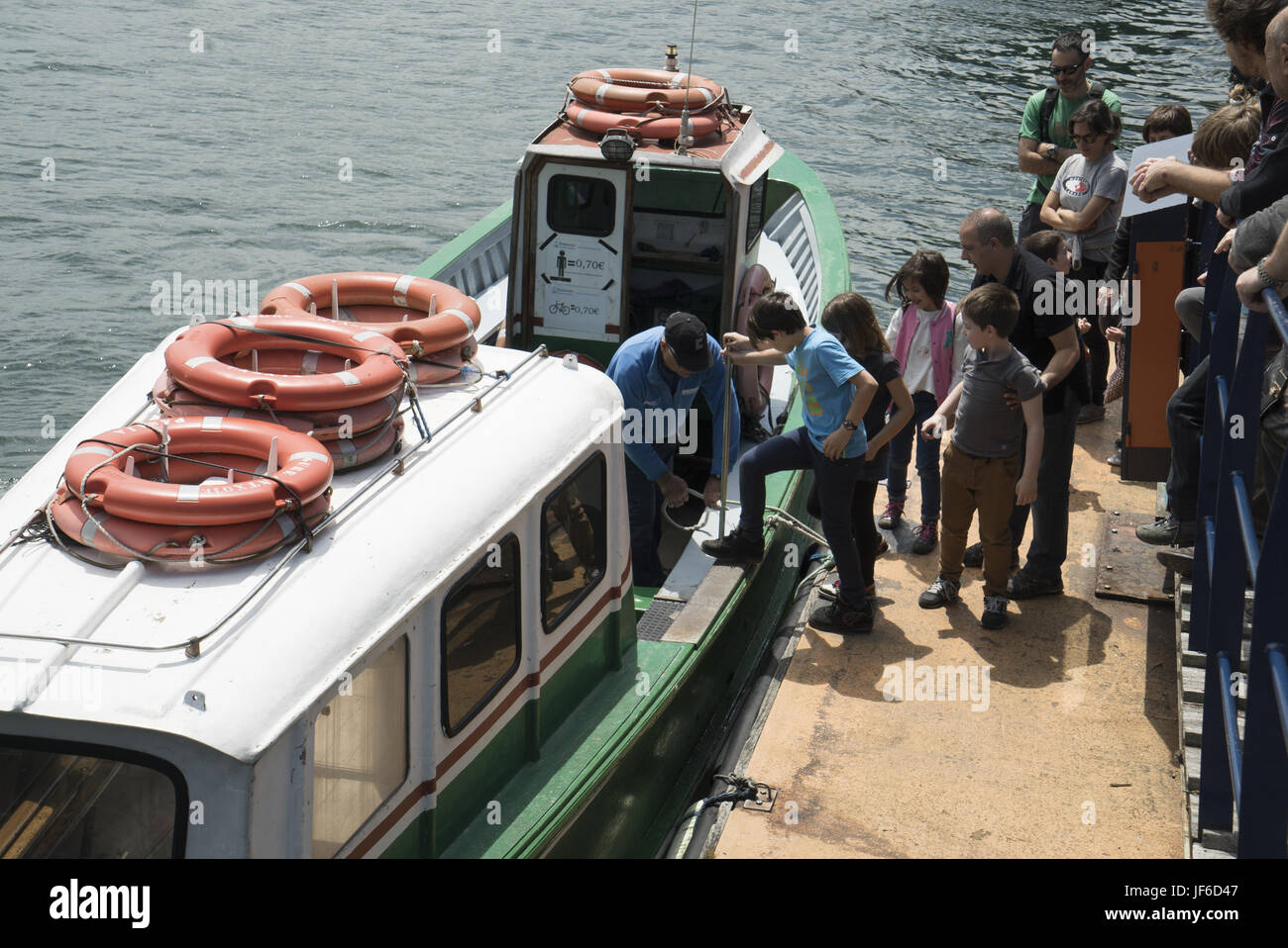 ferryboat - Stock Image
