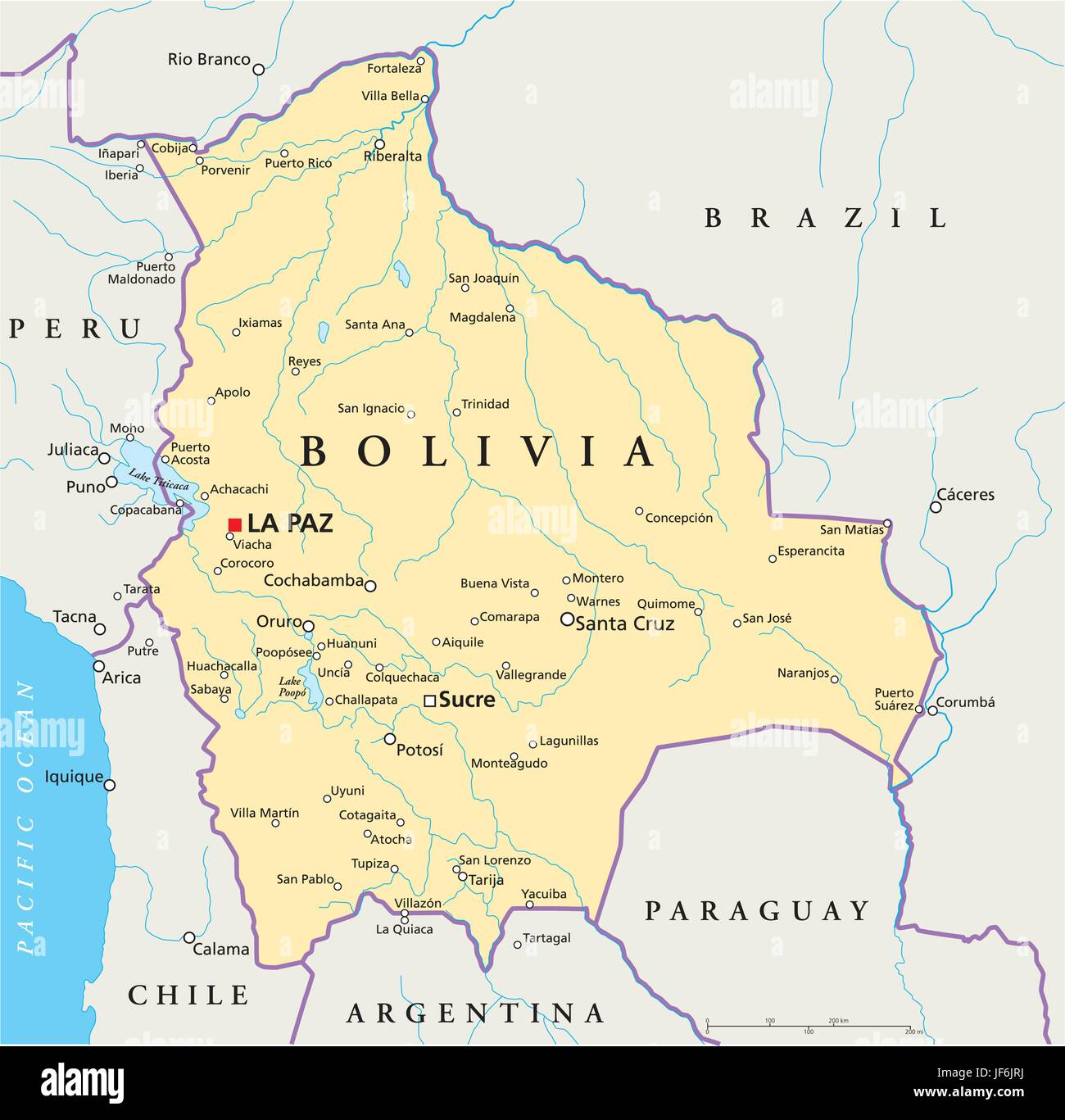 Picture of: Bolivia Map High Resolution Stock Photography And Images Alamy